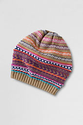 Girls' Fair Isle Beret