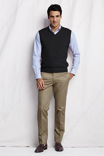 Cashmere Sweater Vest 421220: Black