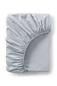 Bügelleichtes Supima Spannbettlaken für 200 cm Matratze