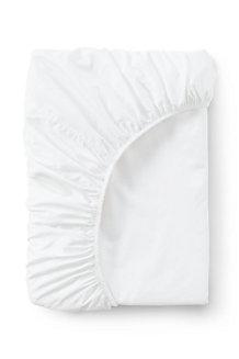 Bügelleichtes Supima Spannbettlaken für 100 cm Matratze