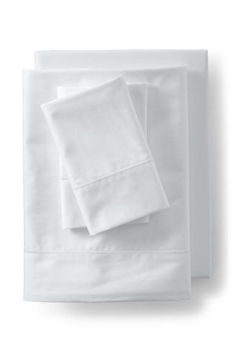 Supima Cotton No Iron Sateen Flat Sheet - 400 Thread Count