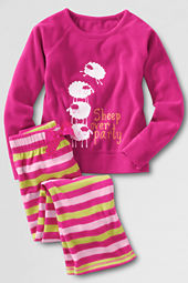 Girls' Fleece Pajama Set