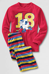 Boys' Fleece Pajama Set