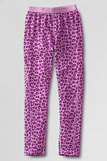 Girls' Print Thermaskin Heat Midweight Thermal Pants