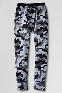 Boys' Print Thermaskin Heat Midweight Thermal Pants