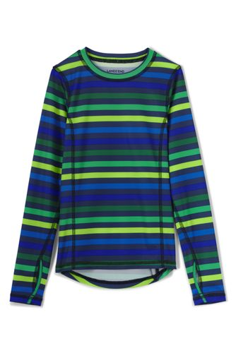 Little Boys' Print Thermskin Heat Midweight Top