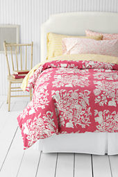 Girls' 200-count Printed Duvet Cover