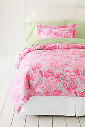 Girls' 200-count Printed Duvet Cover or Sham