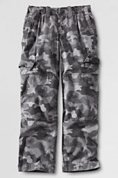 School Uniform Boys' Iron Knee® Pull-on Camo Ripstop Pants