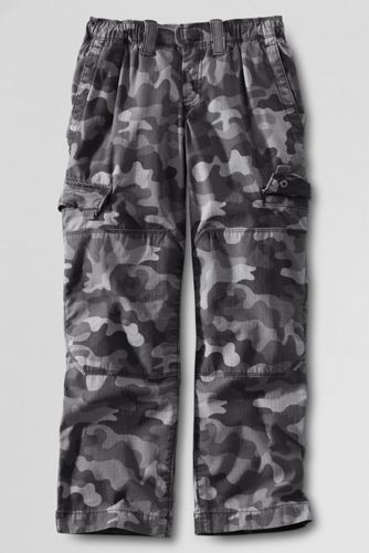 Little Boys' Iron Knee Camouflage Ripstop Cargo Trousers