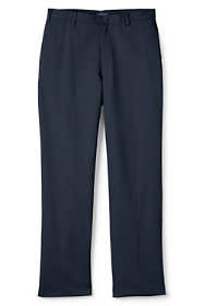 Young Men's Plain Front Stain Resistant Wrinkle Resistant Chino Pants
