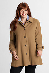 Women's Luxe Wool Swing Coat