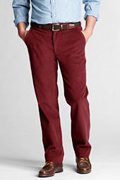 Men's Tailored Fit Plain Front Original Corduroy Pant
