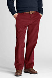 Men's Traditional Fit Plain Front Original Corduroy Pants