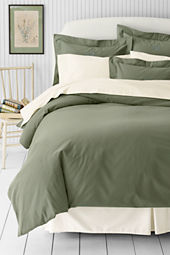 6-oz Solid Flannel Duvet Cover or Sham