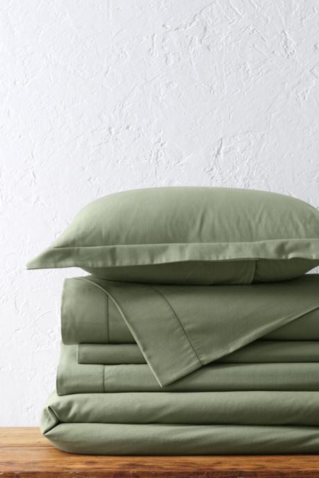 6oz Supima Flannel Duvet Cover