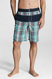 "Men's 9"" Pieced Nautical Swim Shorts"
