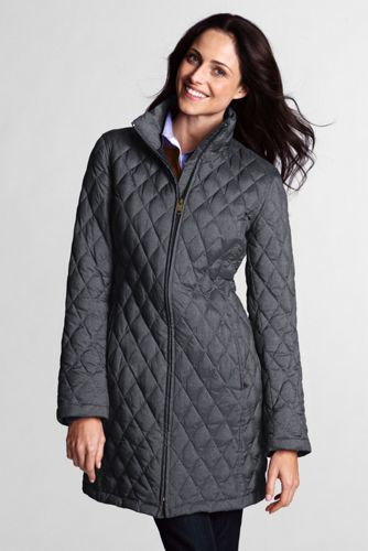 Women's Regular Lightweight Heathered Down Coat