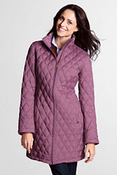 Women's Lightweight Heathered Down Coat