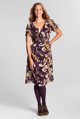 Women's Regular Floral Georgette Ruffle Dress