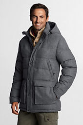 Men's Wool Down Parka