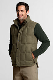 Men's Wool Down Vest