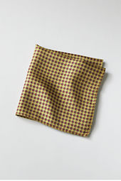 Men's Silk Sunburst Neat Pocket Square