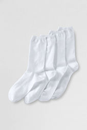School Uniform Women's Cotton Blend Anklet Socks (2-pack)