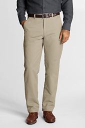 Men's Traditional Fit Flannel-lined Chinos