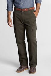 Men's Traditional Fit Flannel-lined Cargo Pants