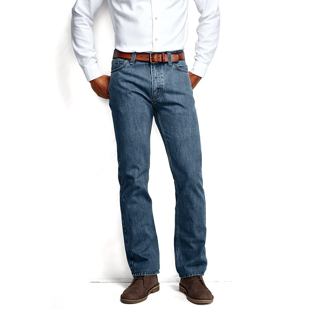 Lands' End Men's Straight Fit Jeans at Sears.com