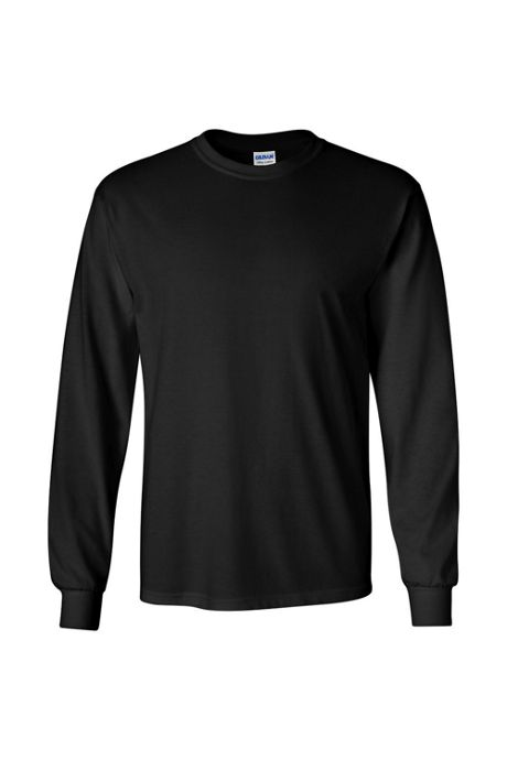 Men's Big Gildan Long Sleeve Screen Print Tee