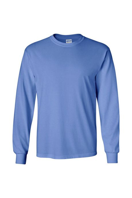 Men's Extra Big Gildan Long Sleeve Screen Print Tee