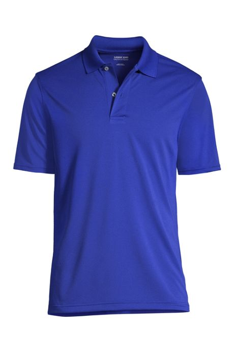 Men's Big Short Sleeve Basic Poly Polo