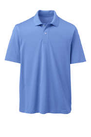 School Uniform Men's Short Sleeve Basic Poly Polo