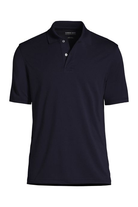 School Uniform Men's Big Short Sleeve Basic Poly Polo