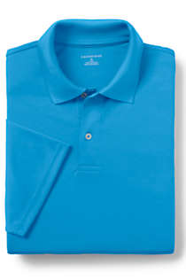 School Uniform Men's Big Short Sleeve Basic Poly Polo , alternative image
