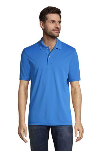 Men's Short Sleeve Basic Poly Polo