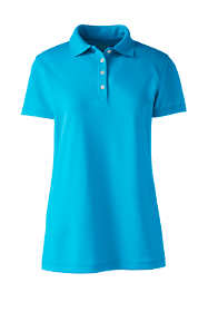 Women's Plus Size Short Sleeve Polyester Polo Shirt