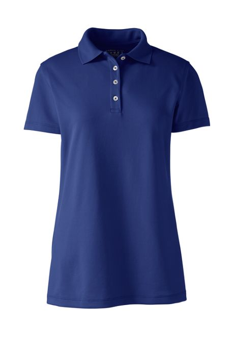 Women's Short Sleeve Polyester Polo Shirt