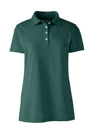 Women's Plus Size Short Sleeve Polyester Polo Shirt
