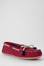 Women's Suede Moc Slippers