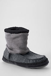 Men's Sweater Bootie Slippers