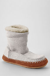 Women's Sweater Bootie Slippers