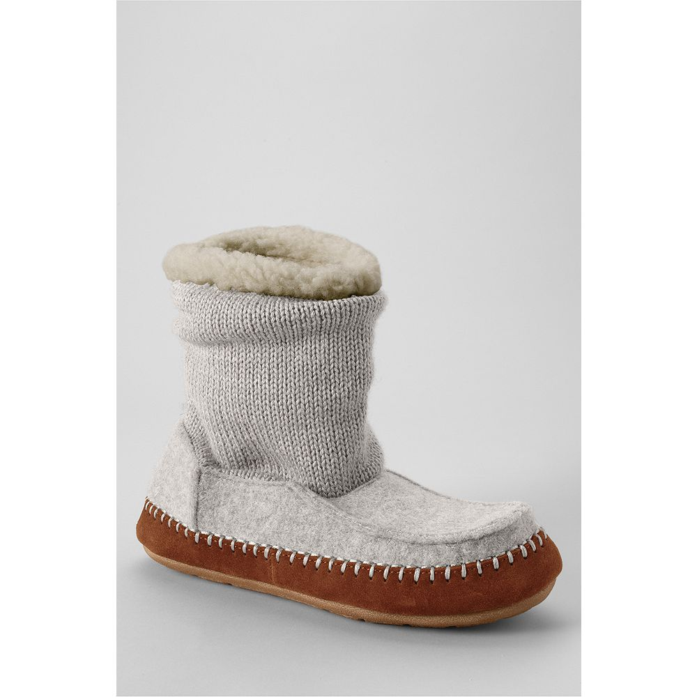 Lands' End Women's Sweater Bootie Slippers at Sears.com