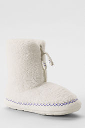 Girls' Shaggy Bootie Slippers