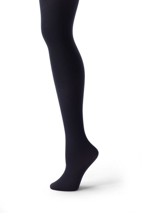 School Uniform Women's Plus Size Opaque Control Top Tights