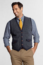 Men's Lambswool FairIsle Button Sweater Vest