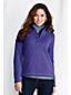 Women's Tall Sweater Fleece Button Polo Neck