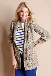 Women's Shawl Collar Open Cardigan
